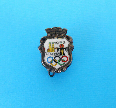 Munchen '72 Fine Olympic Games Munich 1972 Nice Old Rare Enameled Pin Badge A Wide Selection Of Colours And Designs