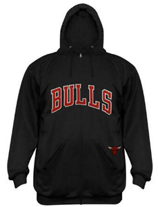 Chicago Bulls Men s Big   Tall Full-Zip Performance Hoodie NBA ... 2cd1722edef1