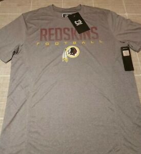 Ultra Game T Shirt RED SKINS NFL SIZE M