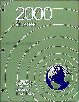 2000 Mercury Villager Original Wiring Diagram Manual ...