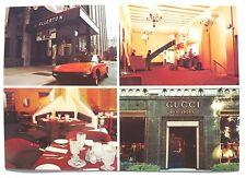 Vtg 1977 THE ALLERTON HOTEL Beverly Hills GUCCI STORE California Photo Postcard