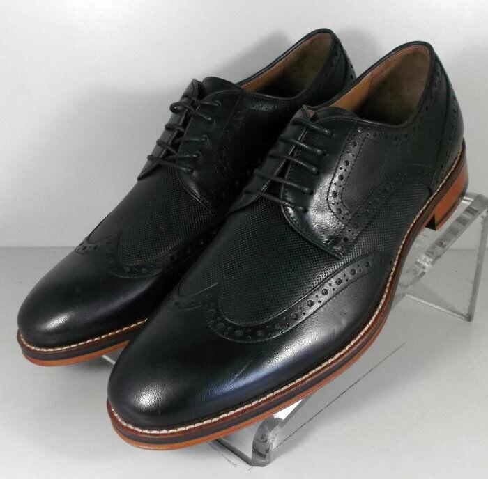 203895 FT50 Chaussures Hommes Taille 9 m Noir en Cuir à Lacets Johnston Murphy