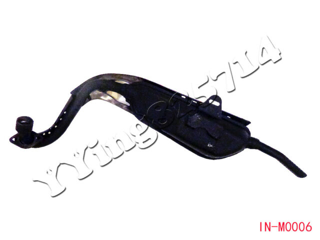 Exhaust Muffler Pipe with Heat Shield for Lifan Mini Trail Honda Z50 Z50R Z 50 M