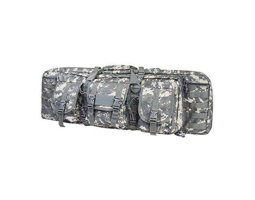 Nueva Pistola Carabina NCStar Tactical 42  Doble Bolsa Funda De Transporte-Digital Digi Camuflaje