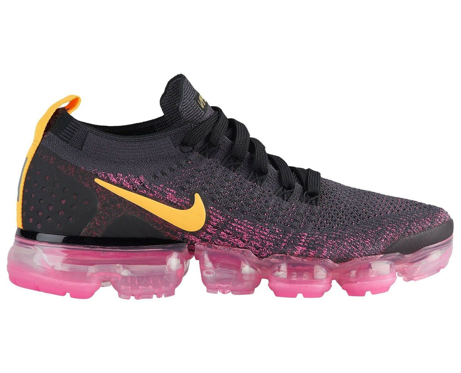 Nike Air Vapormax Flyknit 2 Womens 942843-008 Grey Pink Running shoes Size 6.5