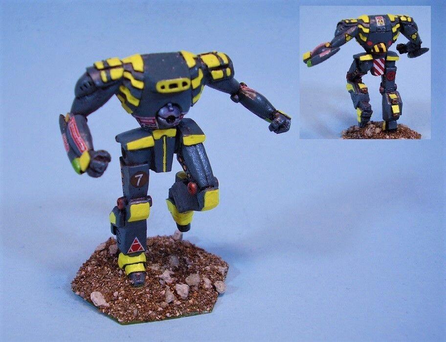 slåsstech målade miniatyr Prowler slåssmech YG