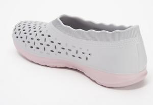 paracaídas respirar Condición previa  Skechers H2GO Perforated Shoes Grey - NEW | eBay