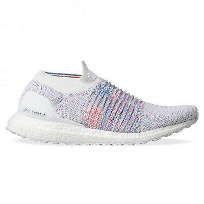Neu Adidas Ultraboost ohne Spitze B37686 Weiß Mehrfarbig Regenbogen Laufschuhe | eBay