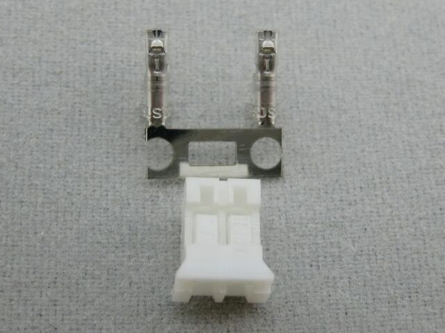 2MM PHR-2 2WAY HOUSING Pack of 20 By JST JAPAN SOLDERLESS TERMINALS