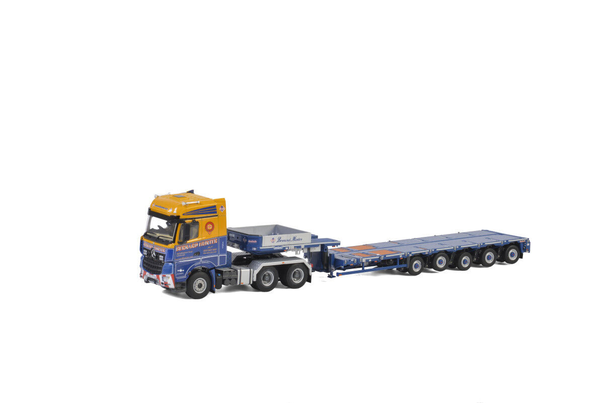 WSI 571.37.6 Bernard Hunter - MCO-PX 5-axle + Mercedes Benz 6x4 NEU OVP