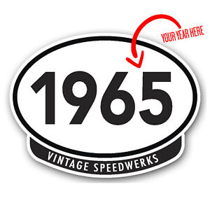 Vintage-Speedwerks-car-sticker-choose-your-own-year-100x75mm-bumper-sticker