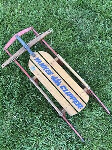 Yankee clipper sled christmas decorations