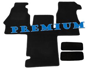 Fussmatte + Einstiege MB Sprinter 2-Sitzer Bj. 2000 - 2006 Art. 6743/E Premium