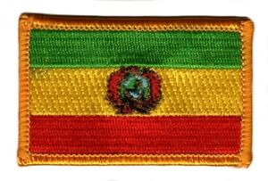 BOLIVIA-BOLIVIAN-FLAG-PATCHES-backpack-PATCH-BADGE-IRON-ON-NEW-EMBROIDERED