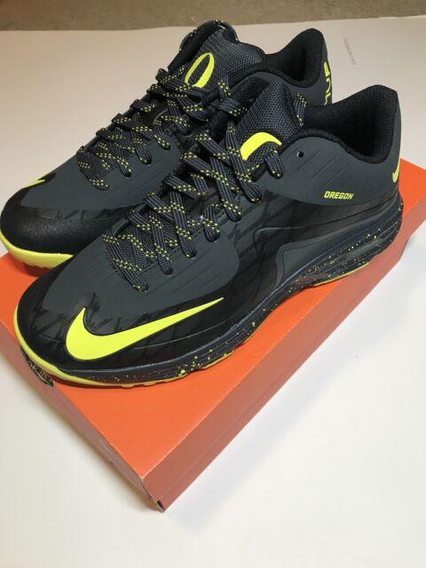 best loved 0b23e bc014 Oregon Ducks Nike Lunar MVP Men s Shoes Sz 8 PE Rare Team Issued