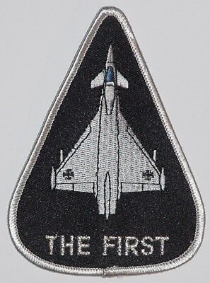 Luftwaffe Aufnäher Patch Eurofighter The First .............A2963