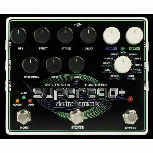 Electro Harmonix Superego Synth Engine /& Multi Effect Pedal