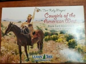 Leanin-039-Tree-034-Cowgirls-of-the-American-West-034-Blank-Cards