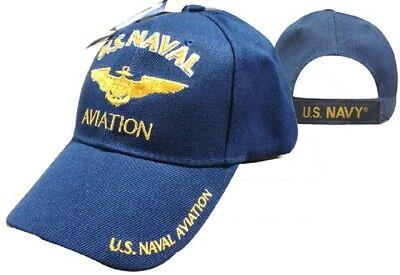 US Naval AVIATION Ball Cap Navy Officer Vet NAVCAD NAP USCG USMC Aviator NFO Hat