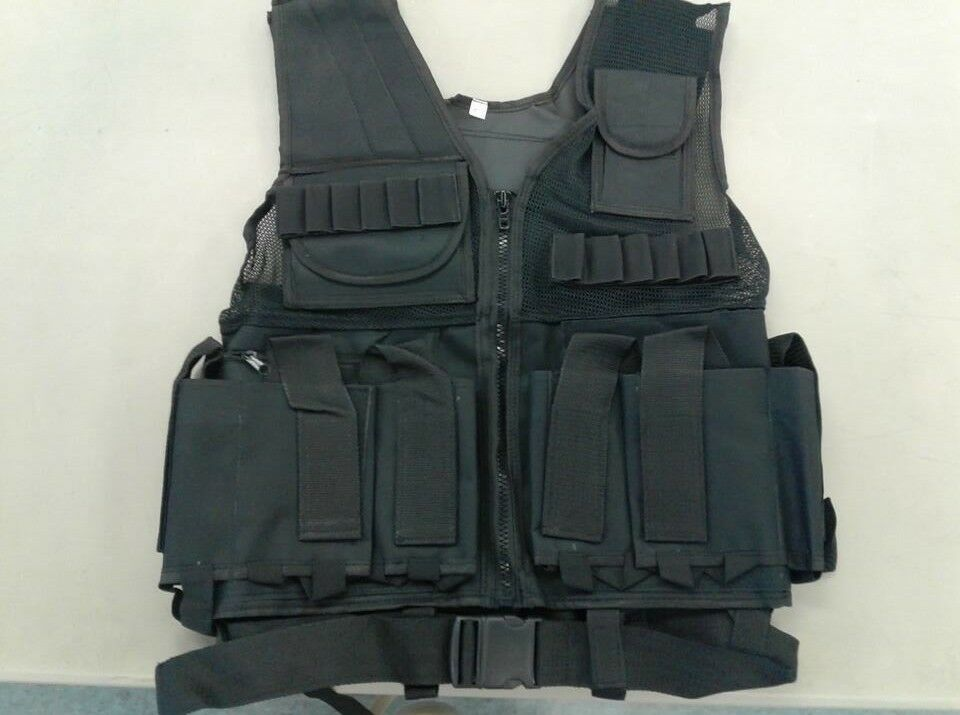 91 Nylon Tactical Paintbtutti Vest  One Dimensione Fits Most  Bre nuovo gratuito Shipping