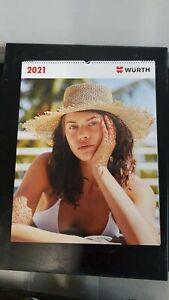 WÜRTH Kalender 2021 Erotikkalender Neu Format (BxH): 49 x ...