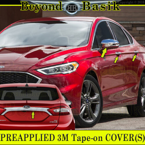 2013 14 15 2016 FORD FUSION Chrome Door Handle COVERS N+Mirror OverlayS+Tailgate