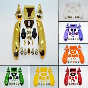 Replacement-Buttons-Triggers-Gold-Bullet-ABXY-for-Xbox-One-Controller-Shell