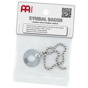 Meinl-Bacon-Cymbal-Sizzler-Rattler-Rivet-effect-Benny-Greb
