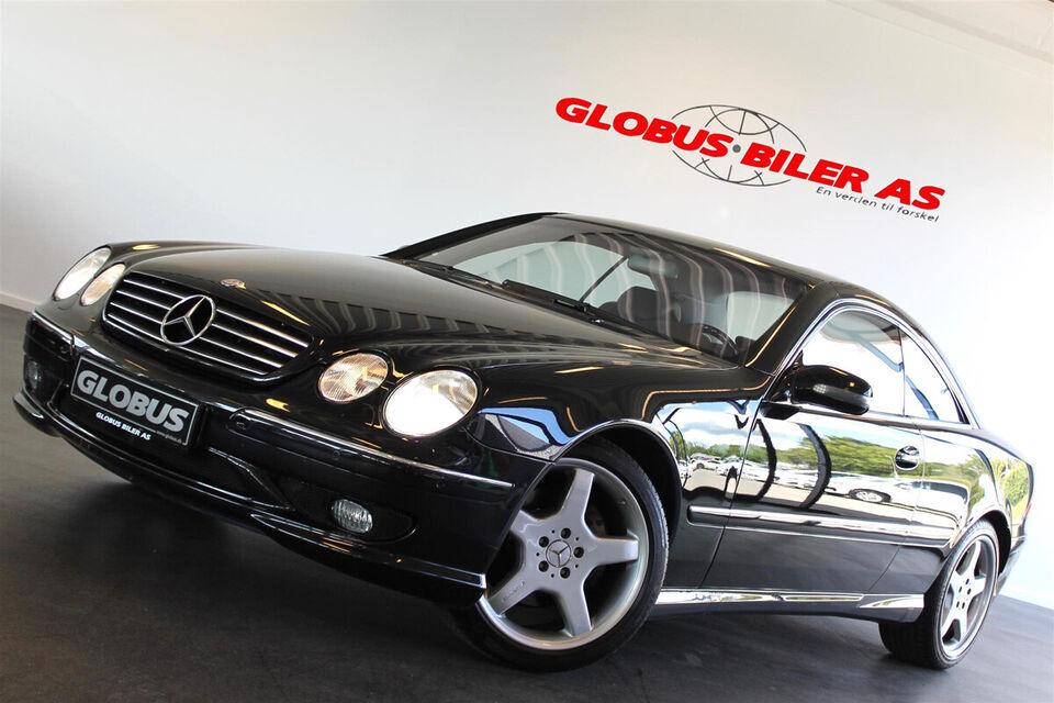 Mercedes CL500 5,0 aut. Benzin aut. Automatgear modelår