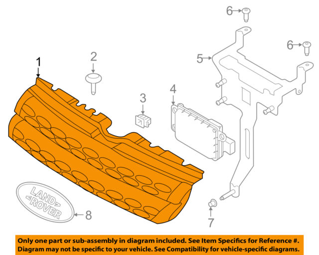 Land Rover Oem 1617 Range Evoquegrille Grill Lr074252 Ebay. Land Rover Oem 1617 Range Evoquegrille Grill Lr074252. Rover. Baseball Positions Diagram With Rover At Scoala.co