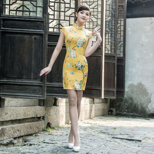 Asian Traditional Chinese Clothing  Cheongsam Qipao Dress