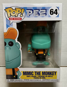 Funko Pop Ad Icons Pez Mimic The Monkey  64 w/ protector