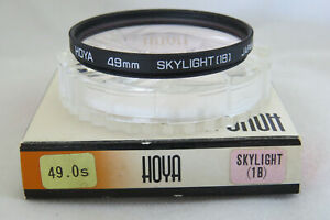 Hoya-49mm-Skylight-1B-Filter-Free-UK-Postage