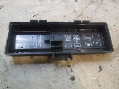 Jeep Cherokee XJ 94-96 Under Hood Fuse Block Relay Panel ...