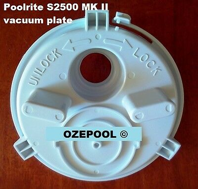 GOOD POOLRITE MARK 2 S2500 NEW AUSSIE GOLD VACUUM PLATE BOXED PVP795 1 HOLE