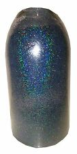 Black Holographic .004 True Ultra Fine Nail Glitter Art Dust Powder DIY Polish!