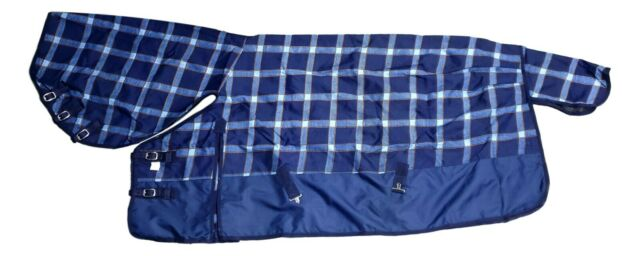 Barnsby Equestrian Waterproof Horse Winter Blanket//Turnout Rug With Neck Combo 1200 Denier with 300g Fill