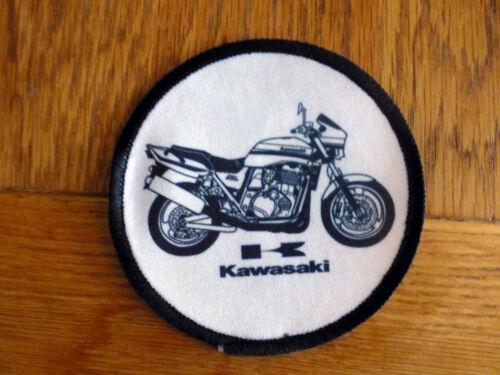 Yamaha Motorcycle Image sew on//stick on badge BSA Kawasaki + Norton Triumph