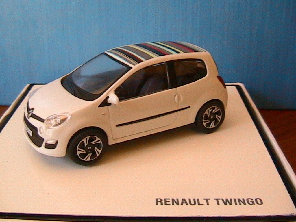 RENAULT TWINGO 2 PHASE II blanc NOREV 7711431530 1 43 BLANCHE BLANC blanc
