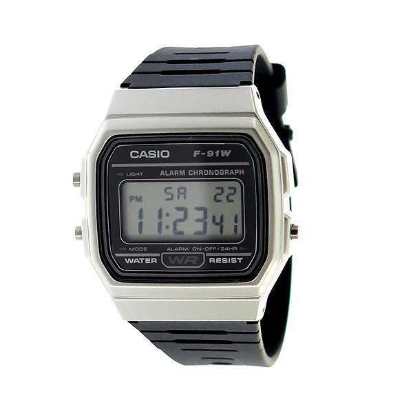 Casio F-91WM New Original Alarm Chronograph Classic Digital Rretro Watch F-91