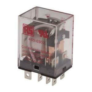 1 x RS Pro DPDT Plug In Non-Latching Relay 110Vac Coil 10A General Purpose Relay