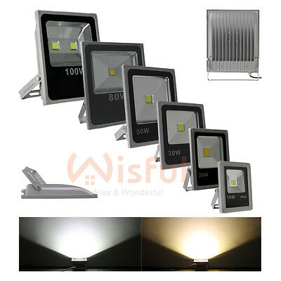 10W/20W/30W/50W/80W/100W LED Outdoor Garden Landscape Flood Light