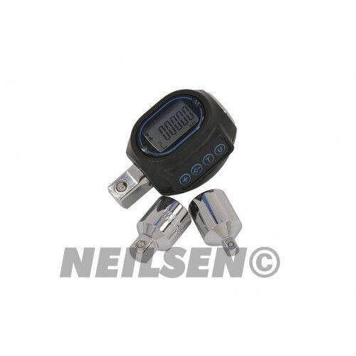 1 2  Digitaler Drehmoment Adapter Drehmomentadapter 40-200Nm Drehmomentschlüssel