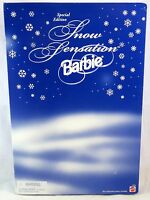 Mattel Snow Sensation Barbie Doll