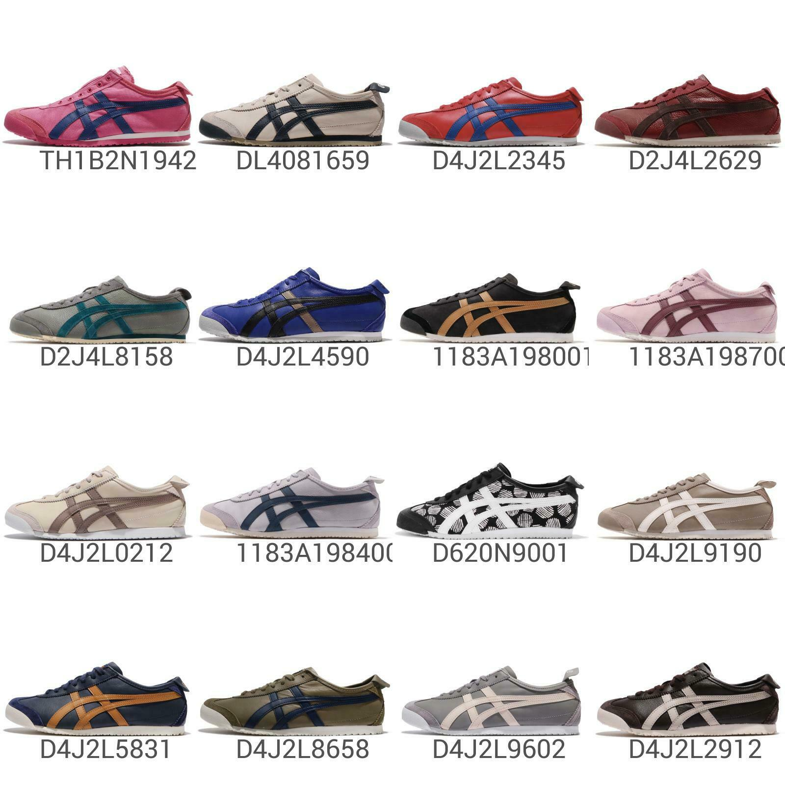 Asics Onitsuka Tiger Mexico 66 Mens mujer Vintage Running zapatos zapatillas Pick 1
