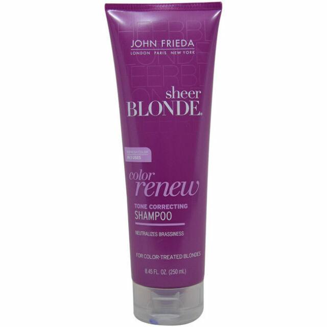 John Frieda Sheer Blonde Colour Renew Tone Restoring Shampoo 8 45 Fl Oz For Sale Online Ebay