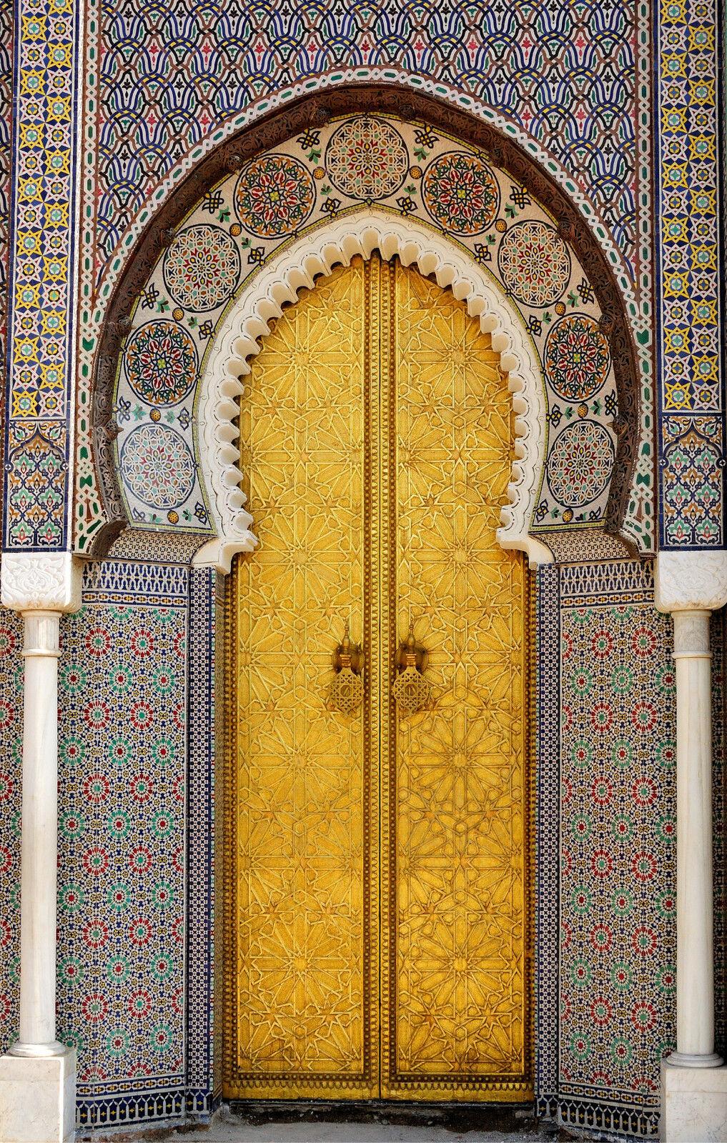 Adhesivo Puerta Gigante Oriental 140x220cm Ref 165