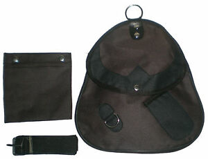Falconry-Cordura-Bag-Hunting-Bag-with-Strap-amp-Detachable-Meat-Pocket-Brown