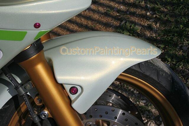 Shimmer White Gold Pearl Flames Ppg Metallic Acrylic Enamel Urethane Auto Paint