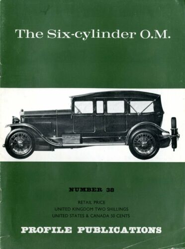PROFILE PUBLICATIONS THE SIX-CYLINDER O.M NUMBER 38